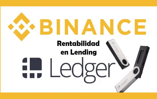 Binance vs ledger prestamos criptomonedas